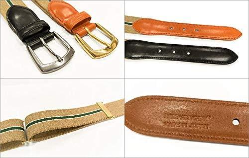 こだわりのBridle Leather & GEVAERT リボンベルト 日本製 フリーサイズ