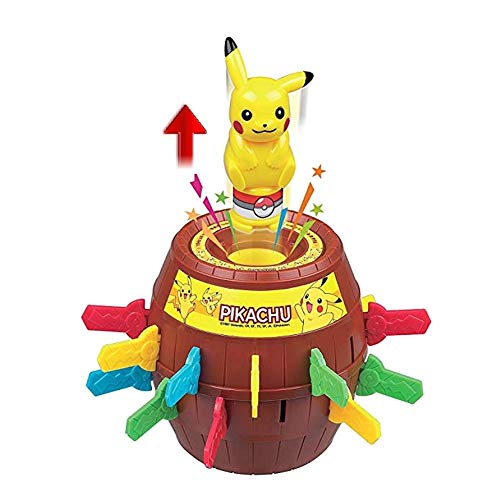 Pikachu Games For Kids (Pokemon_Pikachu Roulette Pop Up Game 24 Swords Running)