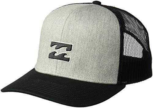 (Billabong Men's All Day Trucker Hat Grey Heather One Size)