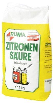 Oetker Zitronensäure 1kg Beutel