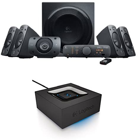 Amazon Com Logitech Z906 Surround Sound Speaker System Bundle