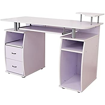 white home offices amazoncom coaster home furnishings modern contemporary 2 drawer