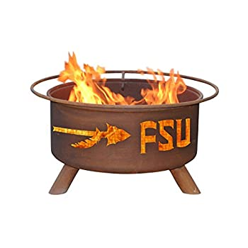 Image of Fire Pits Patina Products F211, 30 Inch Florida State Fire Pit