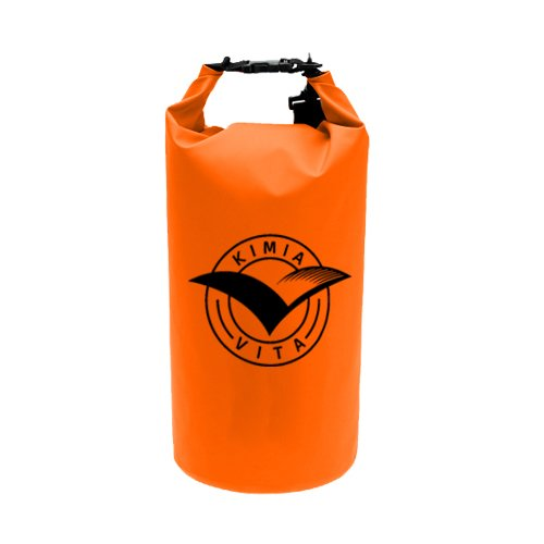 Dry Bag - Boating | Kayaking | Paddle boarding | Fishing (Orange) - Mouse Pad Kayak