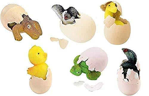 Hatch'ems 6-pack Bundle - Dinosaur, Penguin, Alligator, Chicken, Snake and Turtle