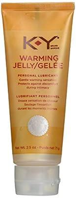 K-Y Warming Warming Jelly Personal Lubricant - 2.5 oz