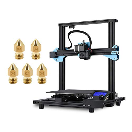 Sovol SV01 3D Printer 95% Pre-Assembled with 5 x 0.4mm Nozzle, Direct Drive Extruder Meanwell Power Supply and Glass…