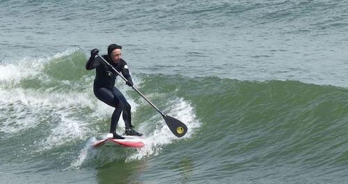 Paddle GanG Remo de Paddle Surf Ajustable Fabricado en Carbono Muy Ligero y Alto Rendimiento