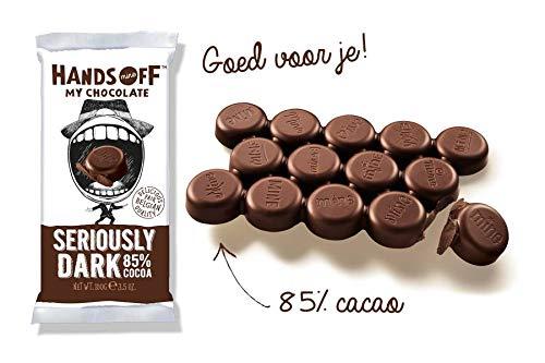Hands Off My Chocolate 85% Seriously Dark Chocolate Bar
