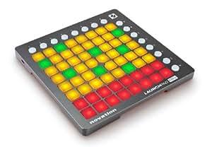 Novation - Launchpad mini usb superficie de control para ipad / macbook / pc negro