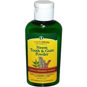 TheraNeem Tooth & Gum Powder - Cinnamint Organix South 40 gram Powder
