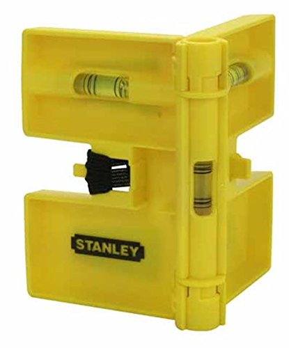 Stanley 0-47-720 Post Level magnetic, Yellow/Black