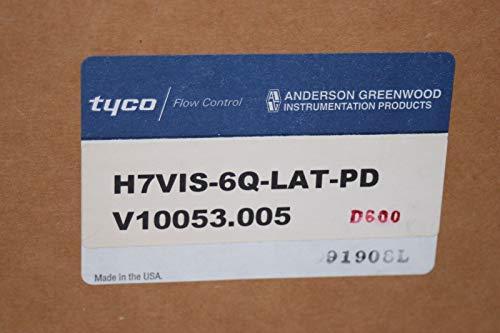 3/4'' NPT SS Needle Valve (6000 PSI @ 200F) Tyco Anderson Greenwood H7VIS-6Q-LAT-PD by 3/4'' NPT SS Needle Valve (6000 PSI @ 200F) (Image #3)