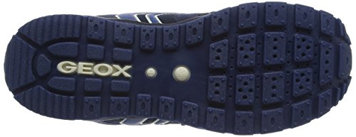 Geox J PAVEL A - zapatilla deportiva de material sintético niño Azul (Navyc4002)