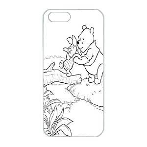 Iphone 5 Case,Hard PC Iphone 5 Protective Case for Ultimate Protect iphone 5 5s with Winnie the Phooh by runtopwellby Maris's Diary