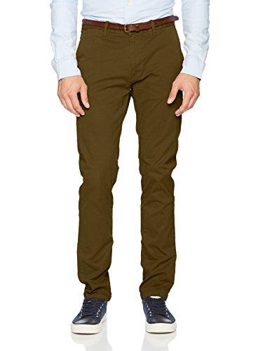 Pant Cottonelastan Scotch Soda amp; Chino Dyed Nos Fit Slim Garment TqvzX