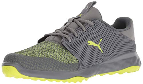 - PUMA Golf Men's Grip Fusion Sport Golf Shoe, Quiet Shade-Limepunch, 13 M US