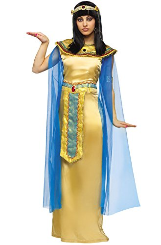 FunWorld Deluxe Cleopatra Diamond Collection, Gold, 8-10 Medium (Cleopatra Deluxe Costumes)