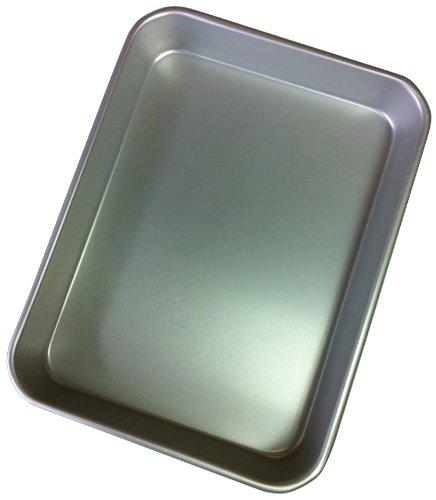 다니구치 타니구치 금속 일본제(MADE IN JAPAN) 알루미늄 합금 표준 배트3호 실버 23.9×31×3.6cm 변형에 강한 알루미늄 합금 사양
