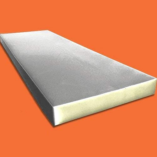 "High Density Cushion, Seat Replacement Foam Sheet / Mattress Padding 0.5"" x 24"" x 72"" inches"