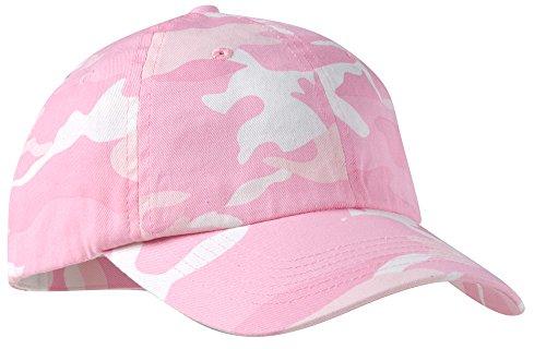 Joe's USA(tm) - Adjustable Pink Camo Camouflage Cap Hat in 6 Colors