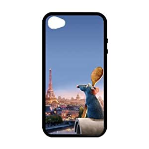CASECOCO(TM) Eiffel Tower Series Black Case&Cover for iPhone 4/4s