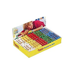 Plastelina Jovi caja 30 barras 5 colores básicos