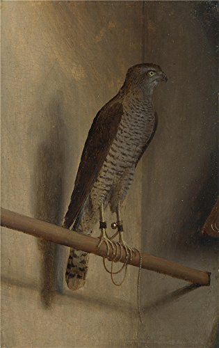 Insight Futon Cover (Oil Painting 'Jacopo De Barbari A Sparrowhawk', 10 x 16 inch / 25 x 40 cm, on High Definition HD canvas prints is for Gifts And Basement, Bed Room And Home Theater Decoration, graph)