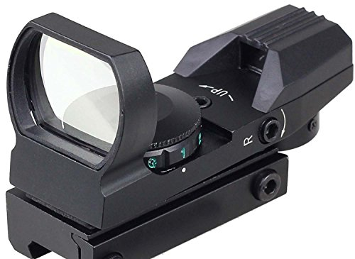 MAYMOC 21mm adjustable bottom track. Laser Sight Multi Reticle 4 Red Dot Sight Scope Mount dovetail Hunting and Outdoor Camera Accessories