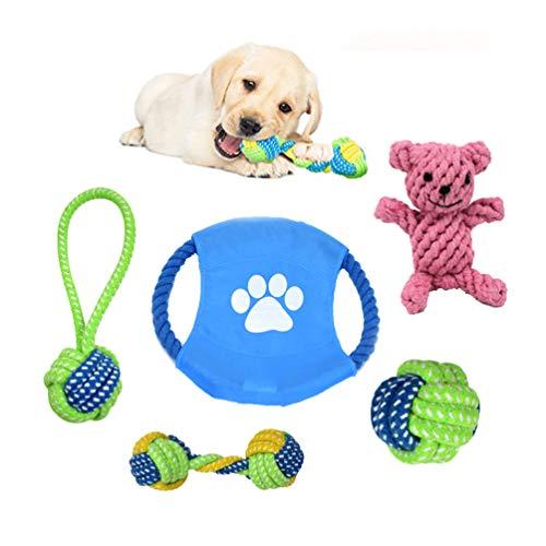 Hundespielzeug aus Seil; interaktives Spielzeug für kleine und mittelgroße Hunde