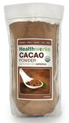 Healthworks Raw Certified Organic Cacao en poudre £ 1/16 oz