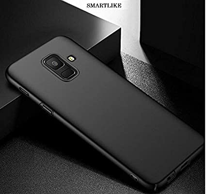best loved c520c da6df SmartLike Silicone and TPU Anti-Slip Scratch Resistant Back Cover for  Samsung Galaxy A6 Plus -2018(Black)