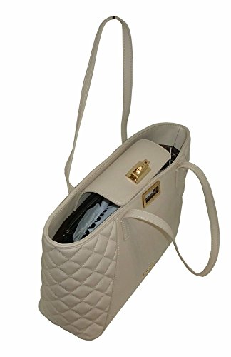 Borsa Love Moschino JC4025 PP15 trapuntata women handbag shopping AVORIO