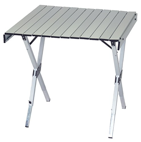 - RIO Gear Portable 2-in-1 Heat Resistant Expandable Camping Table with Carry Bag and Handle