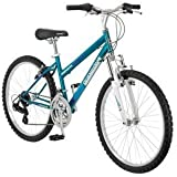 "24"" Granite Peak Girls' Mountain Bike, Teal by Roadmaster"