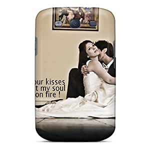 Galaxy S3 Case Cover Skin : Premium High Quality Your Kisses Case