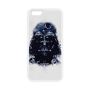 AC33 Darth Vader Arte Star Wars Illust funda de plástico iPhone 6S 4.7 pulgadas del teléfono celular funda funda caja del teléfono celular blanco cubren ALILIZHIA08176