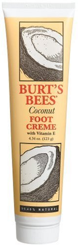 Burt's Bees Coconut Foot Creme with Vitamin E, 4.34 Ounce Tube
