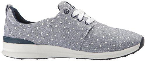 Skechers Bobs Van De Fresh Fashion Sneaker Navy Dot Van Vrouwen