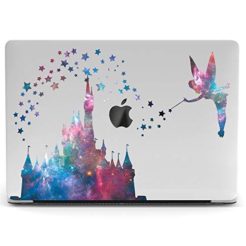 Wonder Wild Mac Retina Cover MacBook Pro 15 inch 12 11 Clear Hard Case Air 13 Apple 2019 Protective Laptop 2018 2017 2016 2015 Plastic Print Touch Bar Cartoon Girly Kids Cute Tinkerbell Castle Disney -