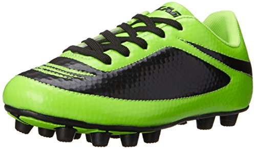 Vizari Infinity FG Soccer Cleat (Toddler/Little Kid/Big Kid), Green/Black, 9.5 M US Toddler