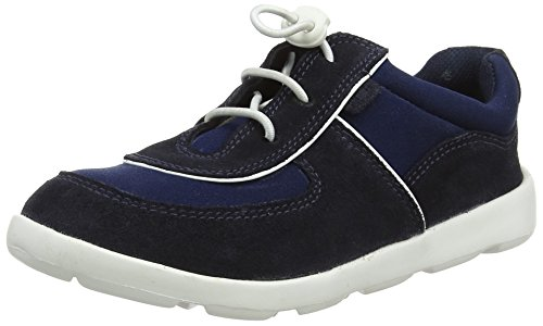 Kickers Mixte Baskets Jiri Bébé navy Lace Bleu 6gUp4Wa6