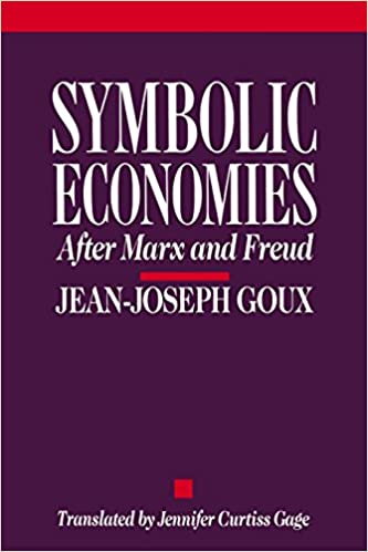 Symbolic Economies After Marx And Freud Cornell Paperbacks Jean