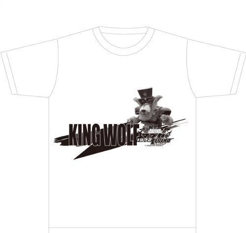 Ryujin Mabuyer 1972 Legend T-shirt (King Wolf A) Size: L