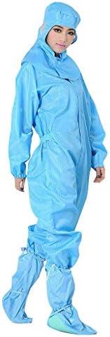 [해외]UniDisposable Overalls Protective Suit Safety Workwear Split Anti-Static Waterproof Overalls / UniDisposable Overalls Protective Suit Safety Workwear Split Anti-Static Waterproof Overalls