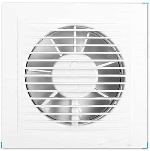 ZSQAW Ventilador de Pared Cableado de Velocidad Variable, Ventilador montado en el Techo, Ventilador de extracción de Techo y con Aislamiento acústico Absorbente de Sonido for baño y hogar