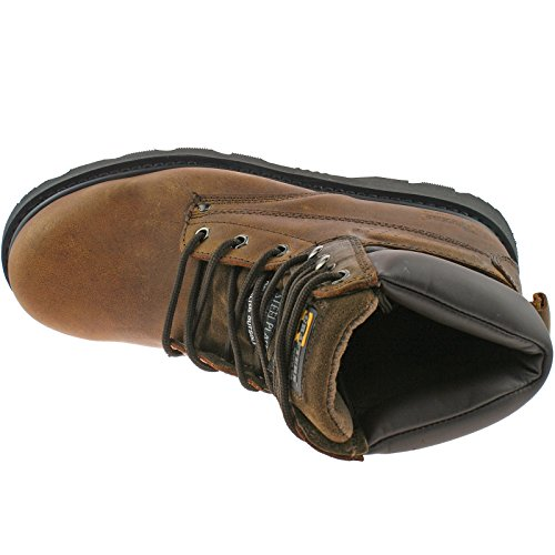 Grafters Adult M538 Safety Boots Brown Brown