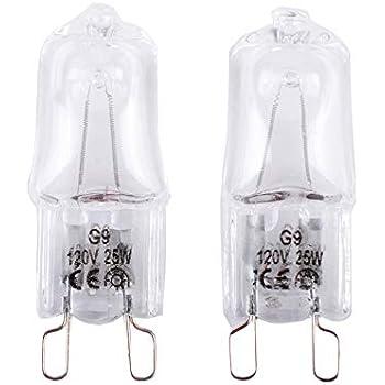 Amazon Com Poweka W10709921 Microwave Light Bulbs