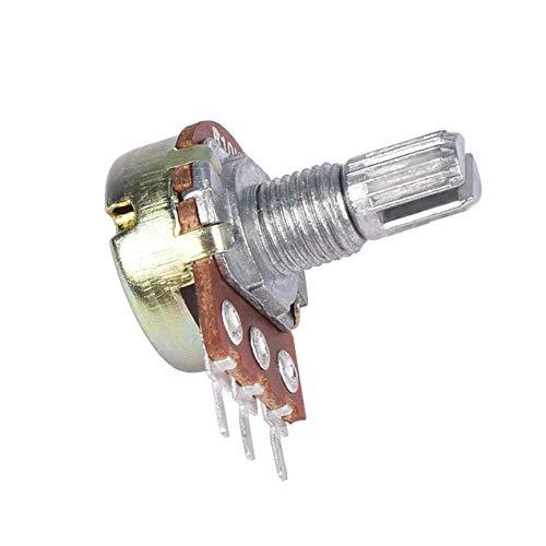 XueSenShangMaoBu 10PCS WH148 Pot B10K 10K Linear Potentiometer Shaft 15mm 3 Pin High Quality