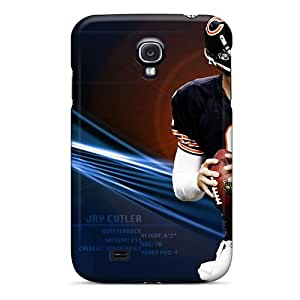 Perfect Hard Phone Cover For Samsung Galaxy S4 (lfJ13650SWia) Support Personal Customs Nice Chicago Bears Skin